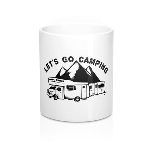 Image of Lets Go Camping Mug - 11oz - Mug