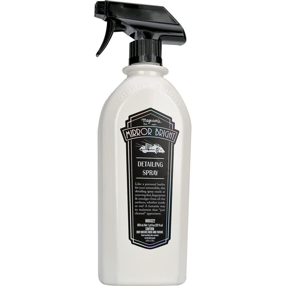 Meguiars Mirror Bright Detailing Spray - 22oz Spray Bottle - Automotive/RV