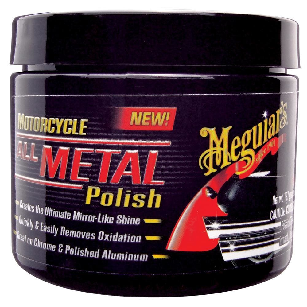 Meguiars Motorcycle Metal Polish *Case of 6* - Automotive/RV