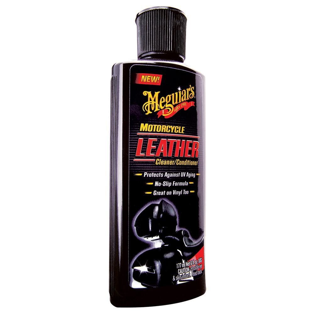Meguiars Motorcycle Vinyl & Leather Cleaner & Conditioner - Automotive/RV