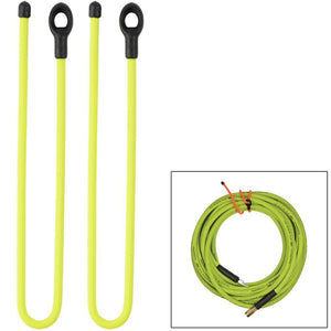 Nite Ize Gear Tie 24 Loopable Twist Tie - Neon Yellow 2 Pack - Outdoor