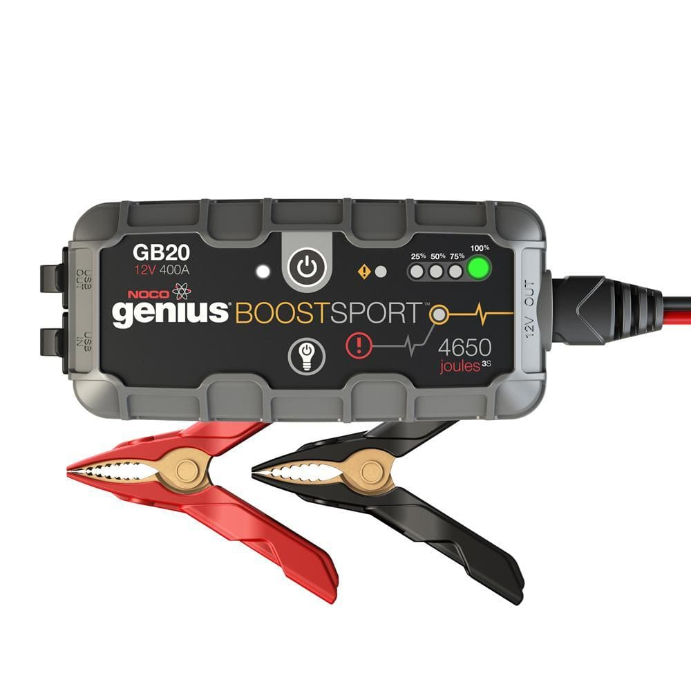 NOCO Genius GB20 Boost Sport Jump Starter - 400A - Automotive/RV