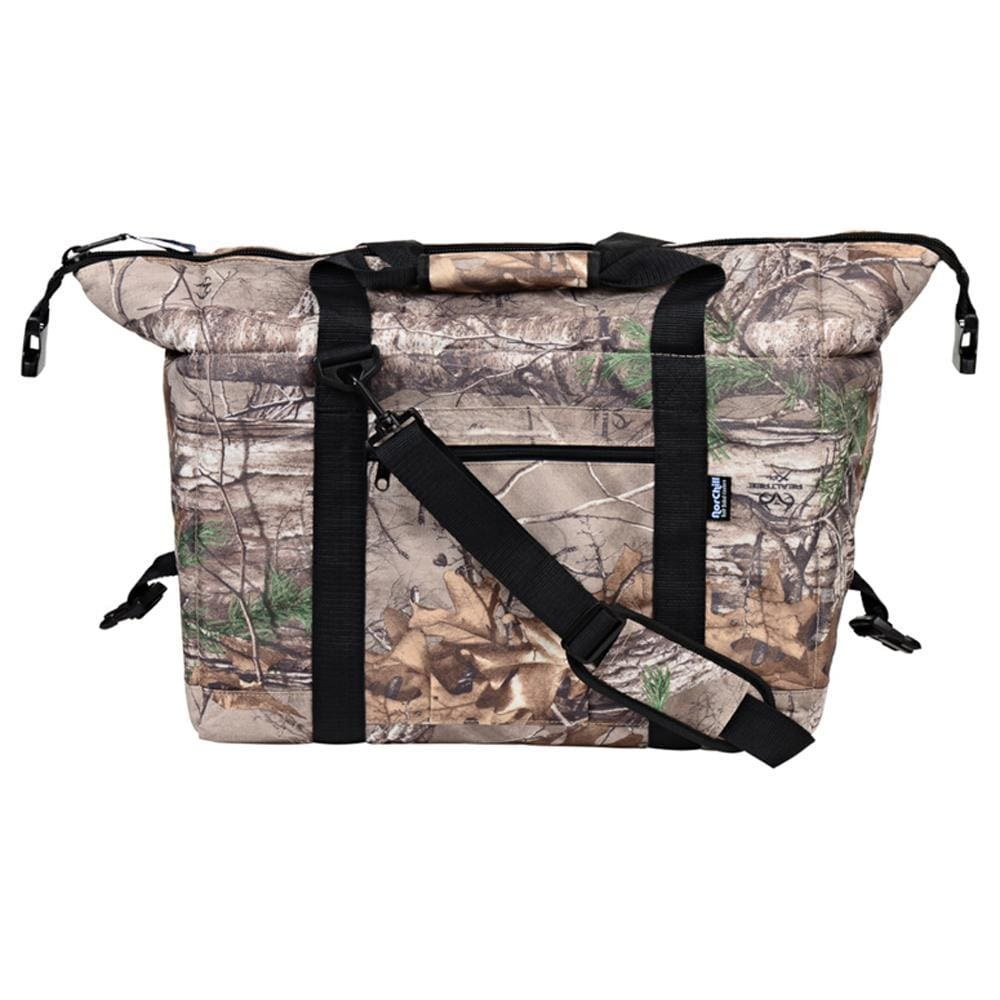 NorChill 24 Can Soft Sided Hot-Cold Cooler Bag - RealTree Camo - Outdoor