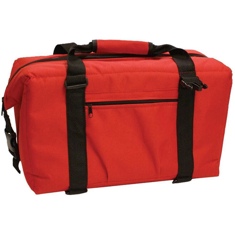 NorChill 24 Can Soft Sided Hot-Cold Cooler Bag - Red - Outdoor