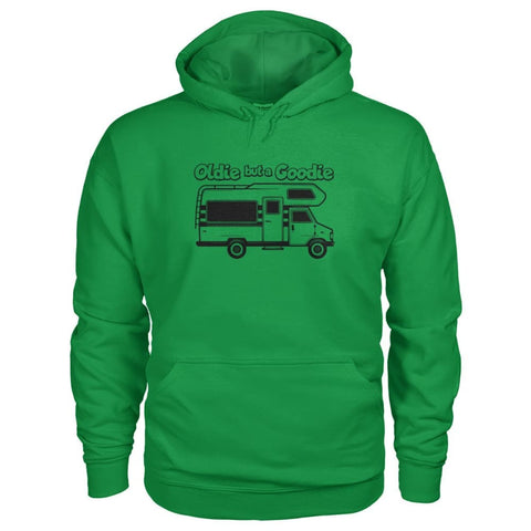 Oldie But A Goodie Hoodie - Irish Green / S - Hoodies