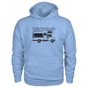 Oldie But A Goodie Hoodie - Light Blue / S - Hoodies