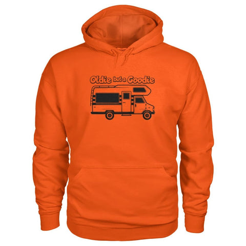 Oldie But A Goodie Hoodie - Orange / S - Hoodies