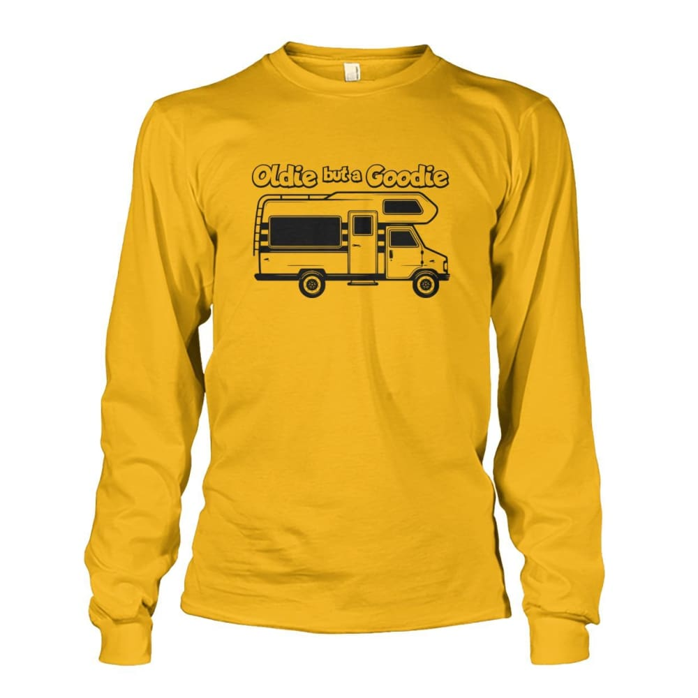 Oldie but a Goodie Long Sleeve - Gold / S - Long Sleeves