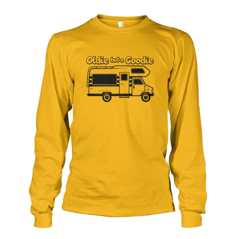 Image of Oldie but a Goodie Long Sleeve - Gold / S - Long Sleeves