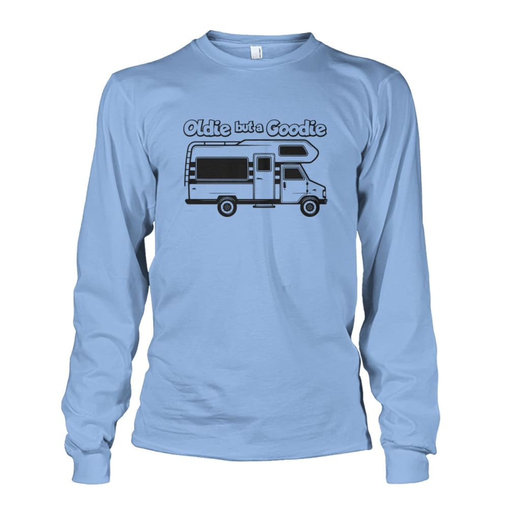 Oldie but a Goodie Long Sleeve - Light Blue / S - Long Sleeves