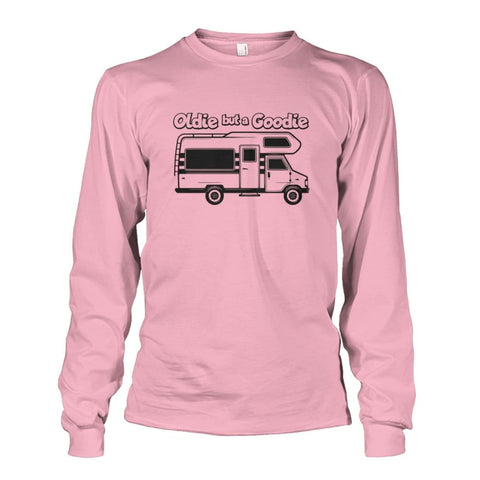 Oldie but a Goodie Long Sleeve - Light Pink / S - Long Sleeves
