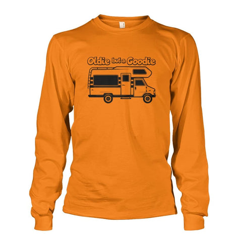 Image of Oldie but a Goodie Long Sleeve - Safety Orange / S - Long Sleeves