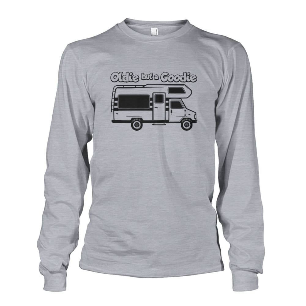 Oldie but a Goodie Long Sleeve - Sports Grey / S - Long Sleeves