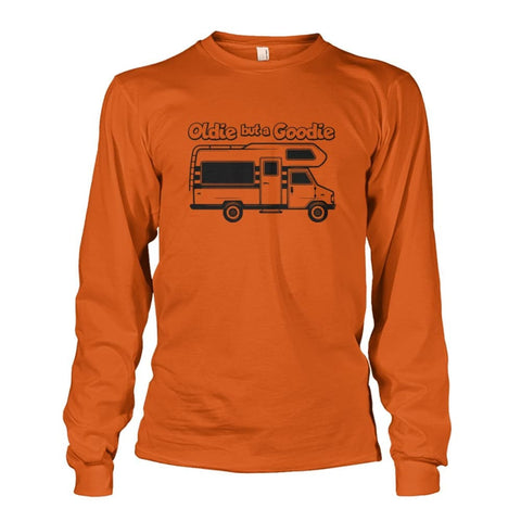 Image of Oldie but a Goodie Long Sleeve - Texas Orange / S - Long Sleeves