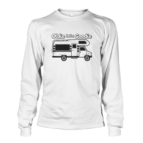 Image of Oldie but a Goodie Long Sleeve - White / S - Long Sleeves