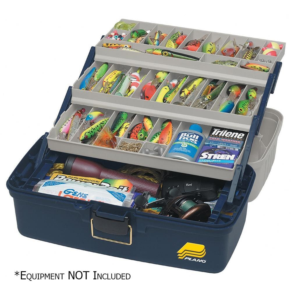 Plano Three-Tray Fixed Compartment Tackle Box - XL - Outdoor