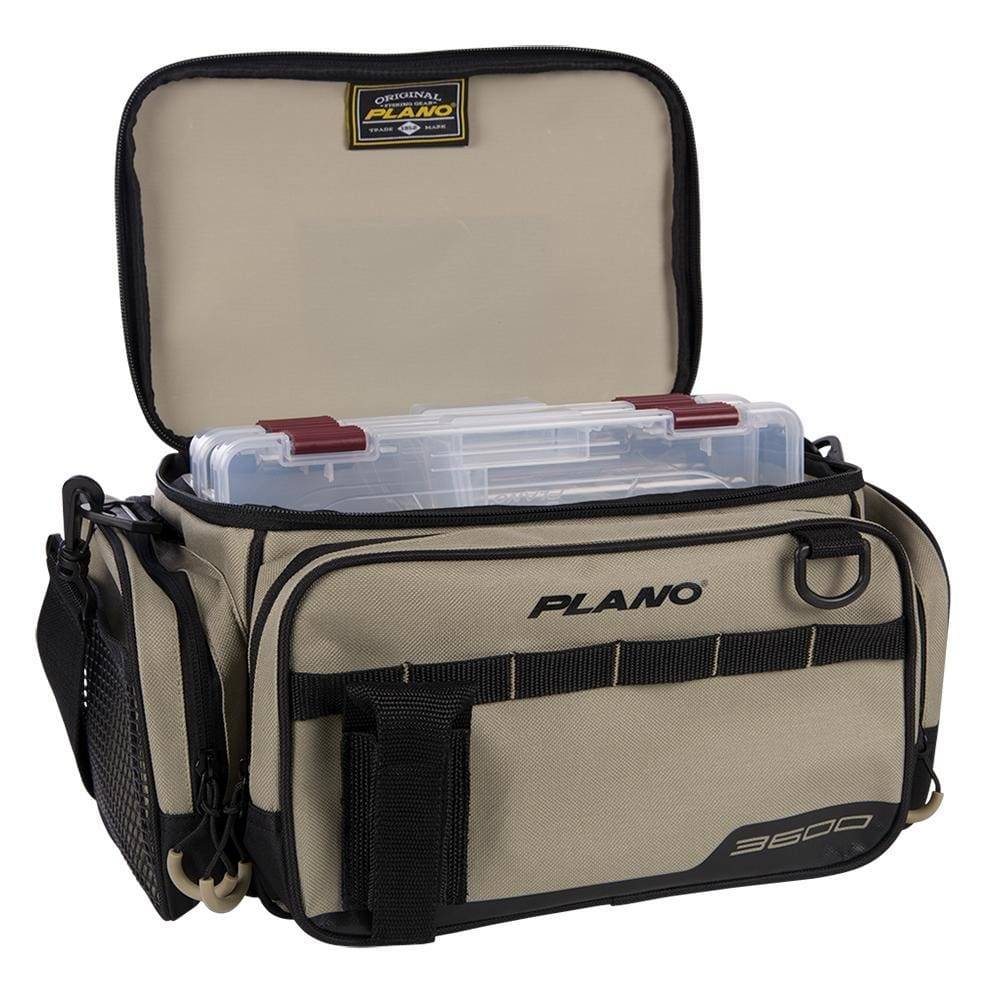 Plano Weekend Series Tackle Case - 2-3600 Stowaways Included - Tan - Outdoor