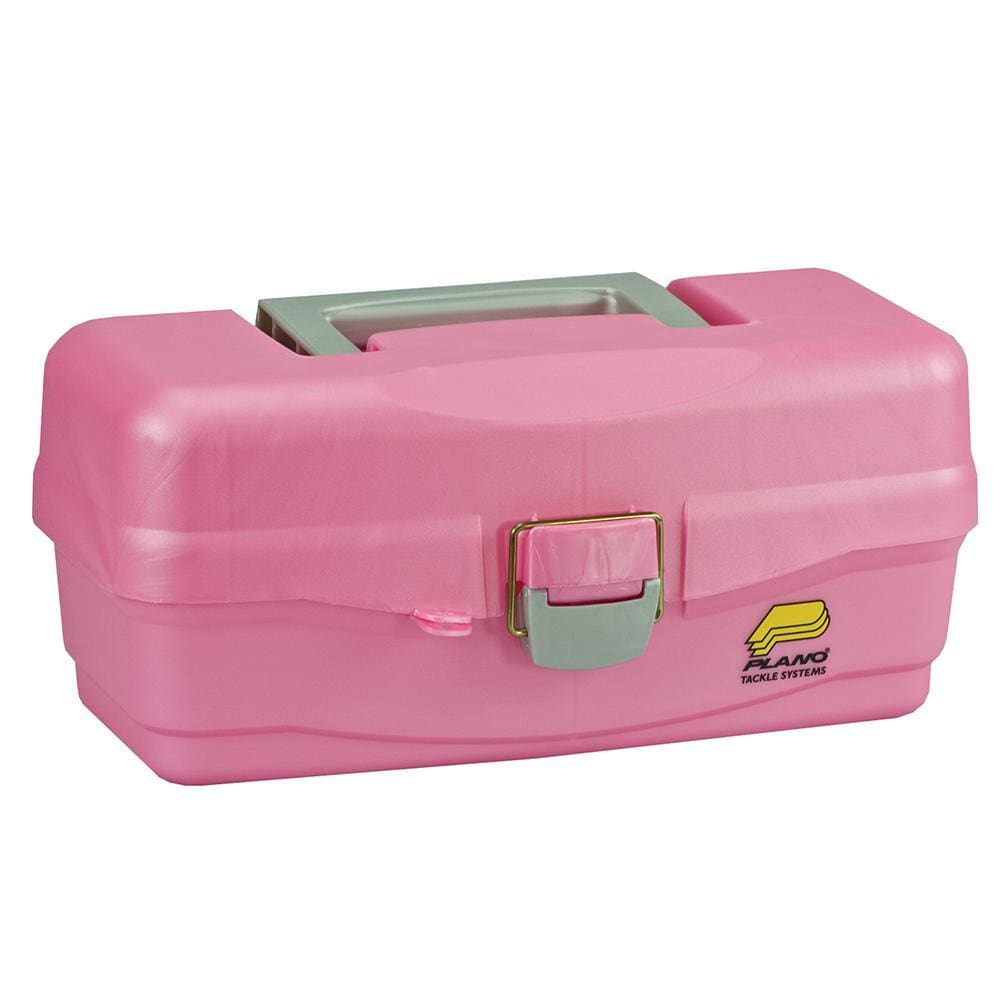 Plano Youth Tackle Box w-Lift Out Tray - Pink - Outdoor