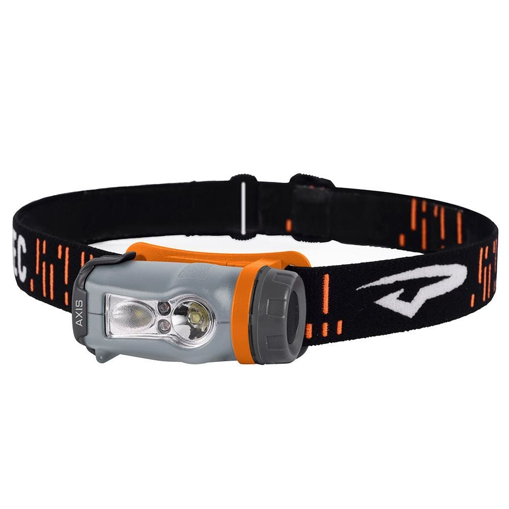 Princeton Tec Axis LED HeadLamp - Orange-Grey - Outdoor