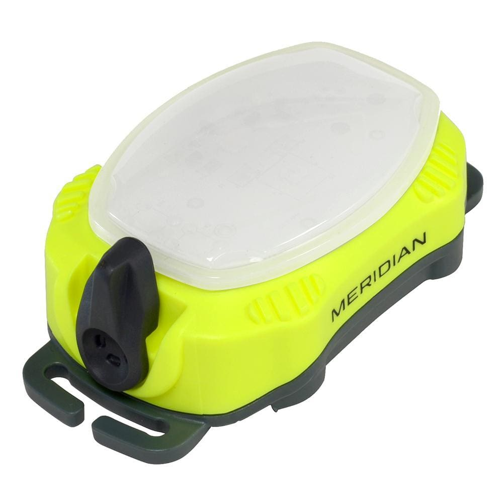 Princeton Tec Meridian Strobe - Beacon - Neon Yellow - Outdoor