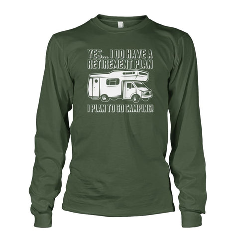 Retirement Plan Long Sleeve - Military Green / S - Long Sleeves