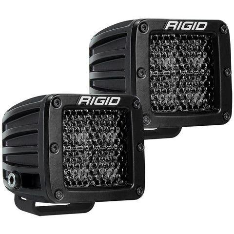 RIGID Industries D-Series Pro Spot Diffused Midnight Surface Mount - Pair - Automotive/RV