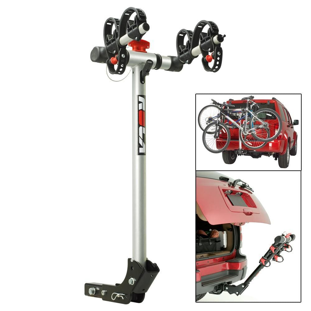 ROLA Bike Carrier - TX w-Tilt & Security - Hitch Mount - 2-Bike - Outdoor