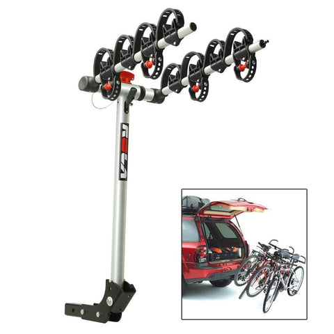 ROLA Bike Carrier - TX w-Tilt & Security - Hitch Mount - 4-Bike - Outdoor