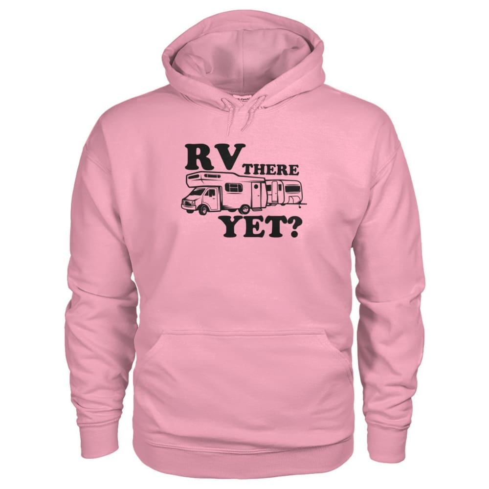 RV There Yet Hoodie - Classic Pink / S - Hoodies