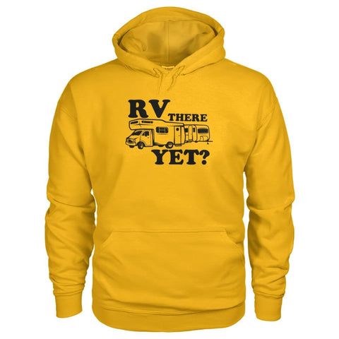 RV There Yet Hoodie - Gold / S - Hoodies