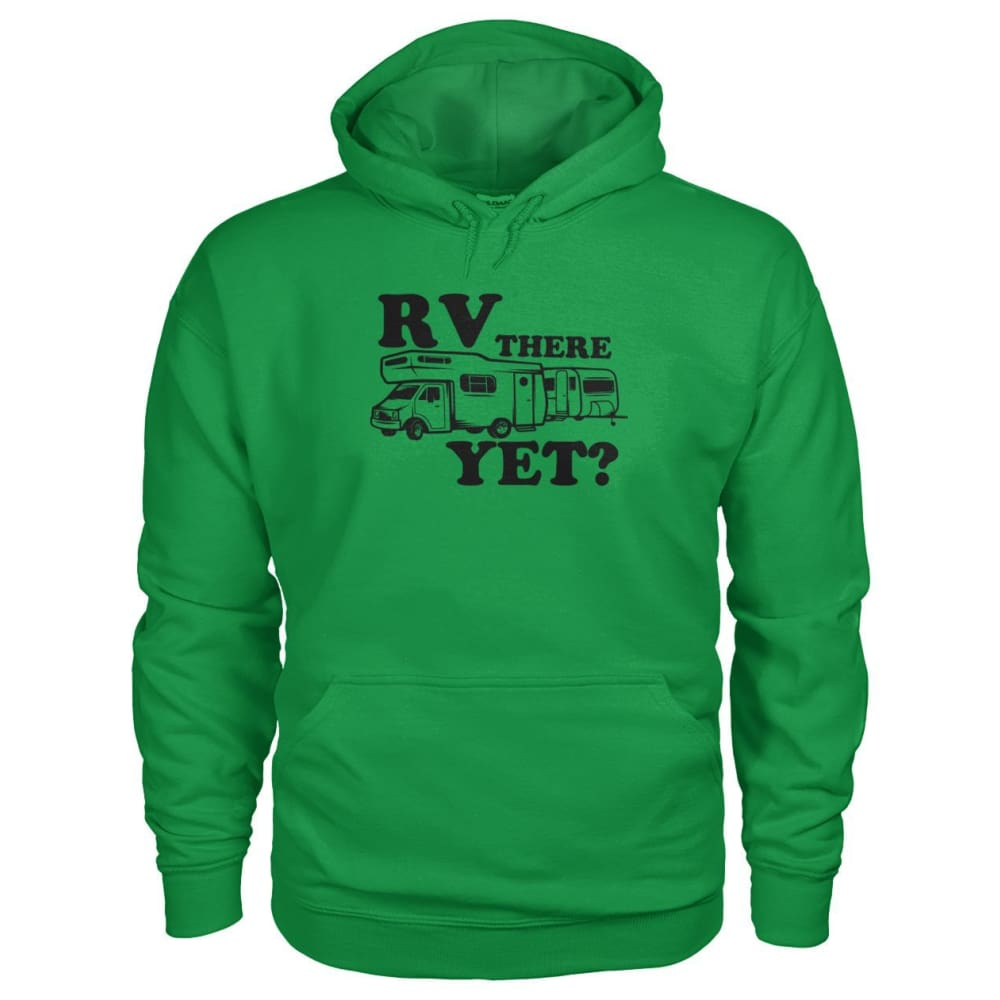 RV There Yet Hoodie - Irish Green / S - Hoodies