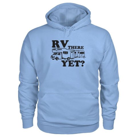 RV There Yet Hoodie - Light Blue / S - Hoodies