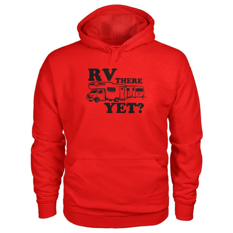 RV There Yet Hoodie - Red / S - Hoodies