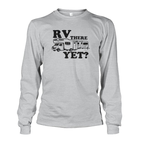 RV There Yet Long Sleeve - Ash Grey / S - Long Sleeves