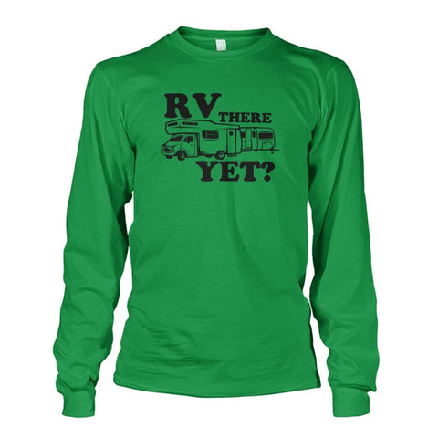 RV There Yet Long Sleeve - Irish Green / S - Long Sleeves