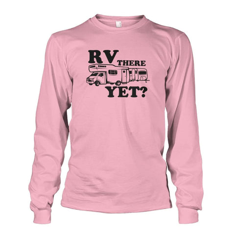 RV There Yet Long Sleeve - Light Pink / S - Long Sleeves