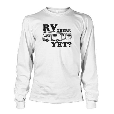 RV There Yet Long Sleeve - White / S - Long Sleeves
