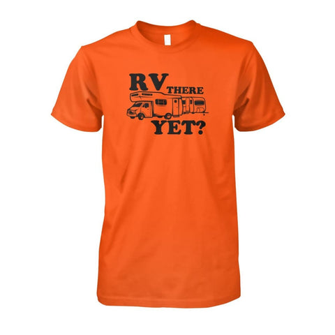 RV There Yet Tee - Orange / S - Short Sleeves