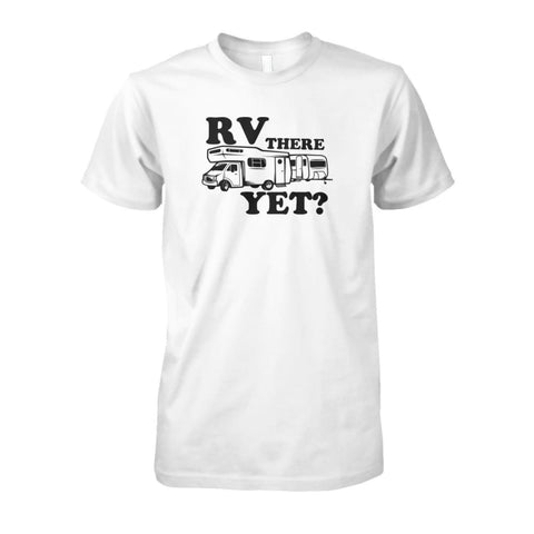 RV There Yet Tee - White / S - Short Sleeves
