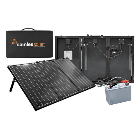 Samlex Portable Solar Charging Kit - 90W - Outdoor