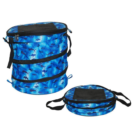 Taylor Made Stow n Go Collapsible Cooler - Blue Sonar - Outdoor