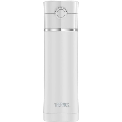 Thermos Sipp Stainless Steel Drink Bottle - 16 oz. - Matte White - Outdoor