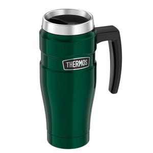 Thermos Stainless King Vacuum Insulated Stainless Steel Travel Mug - 16oz - Pine Green - Outdoor