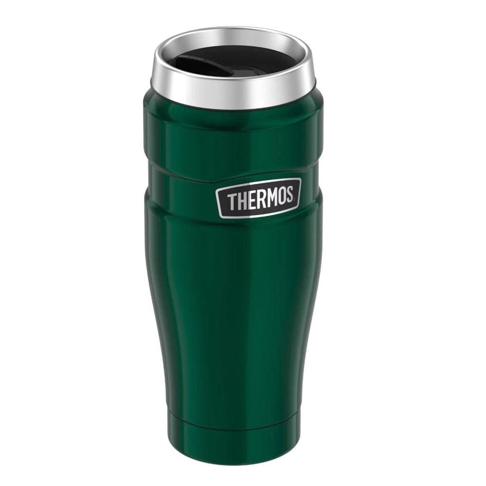 Thermos Stainless King Vacuum Insulated Stainless Steel Travel Tumbler - 16oz - Pine Green - Outdoor