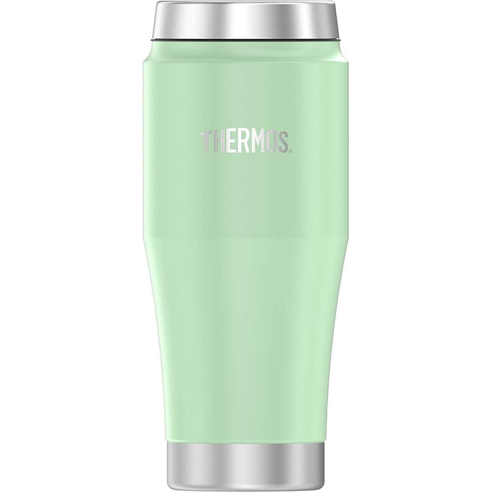 Thermos Vacuum Insulated Stainless Steel Travel Tumbler - 16oz - Frosted Mint - Outdoor