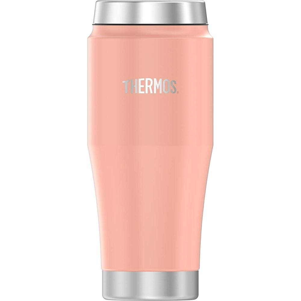 Thermos Vacuum Insulated Stainless Steel Travel Tumbler - 16oz - Matte Blush - Outdoor
