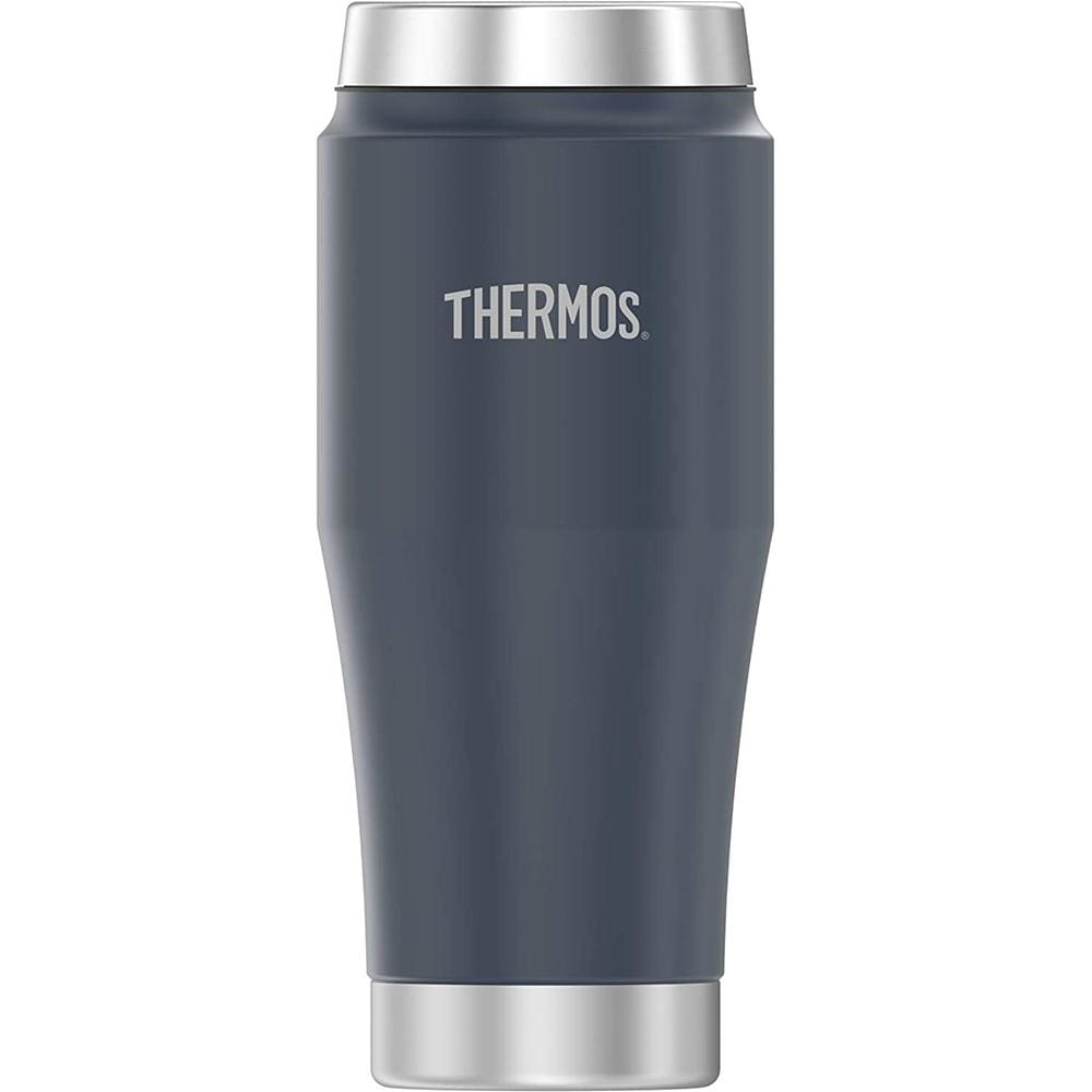 Thermos Vacuum Insulated Stainless Steel Travel Tumbler - 16oz - Matte Dusty Blue - Outdoor