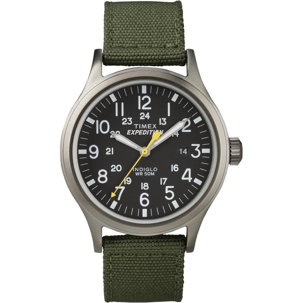 Timex Expedition Scout Metal Watch - Green-Black - Outdoor