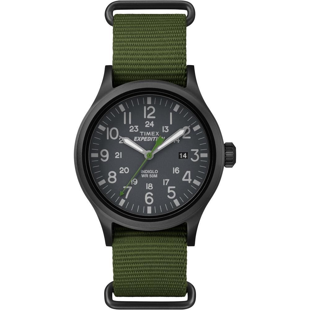 Timex Expedition Scout Slip-Thru Watch - Green - Outdoor