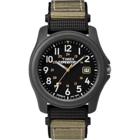 Timex Expedition® Camper Nylon Strap Watch - Black - Outdoor